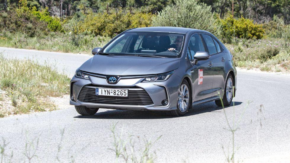 Δοκιμή: Toyota Corolla 1,8 Hybrid Sedan