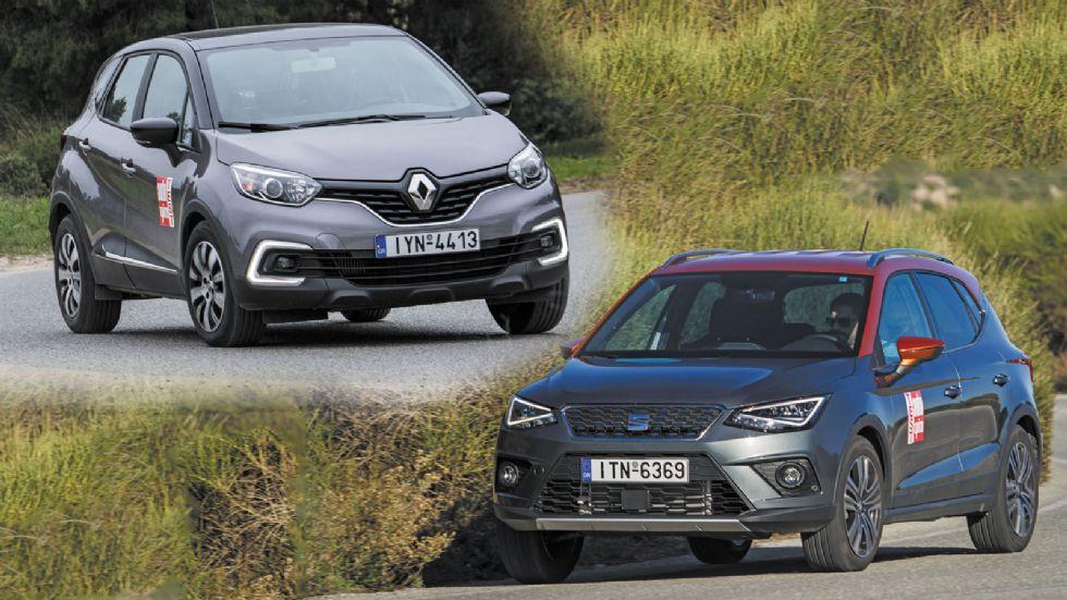Renault Captur vs SEAT Arona