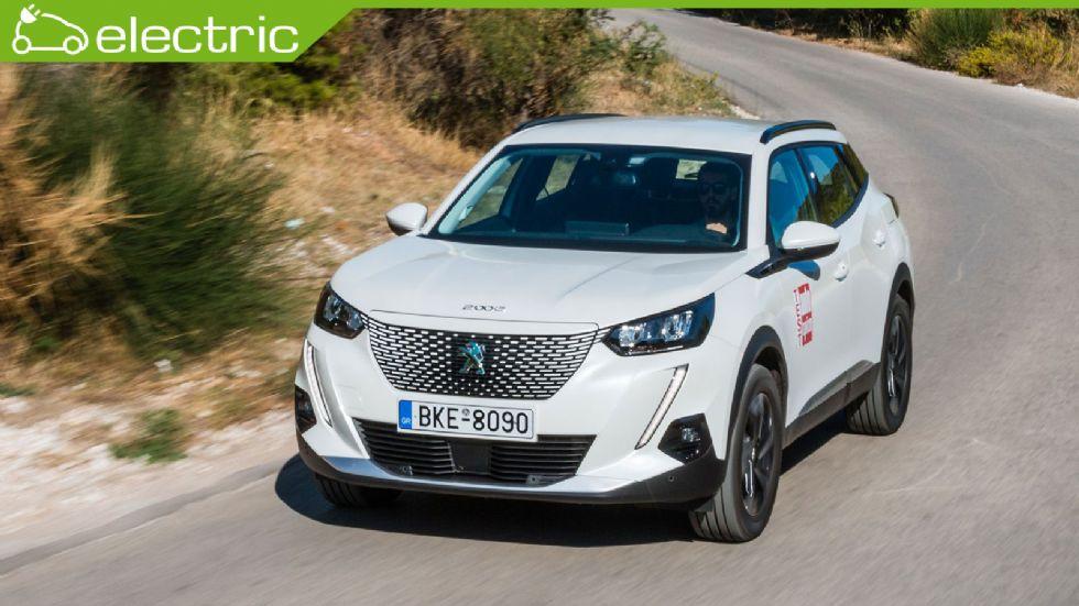 Πρώτη δοκιμή: Νέο Peugeot e-2008