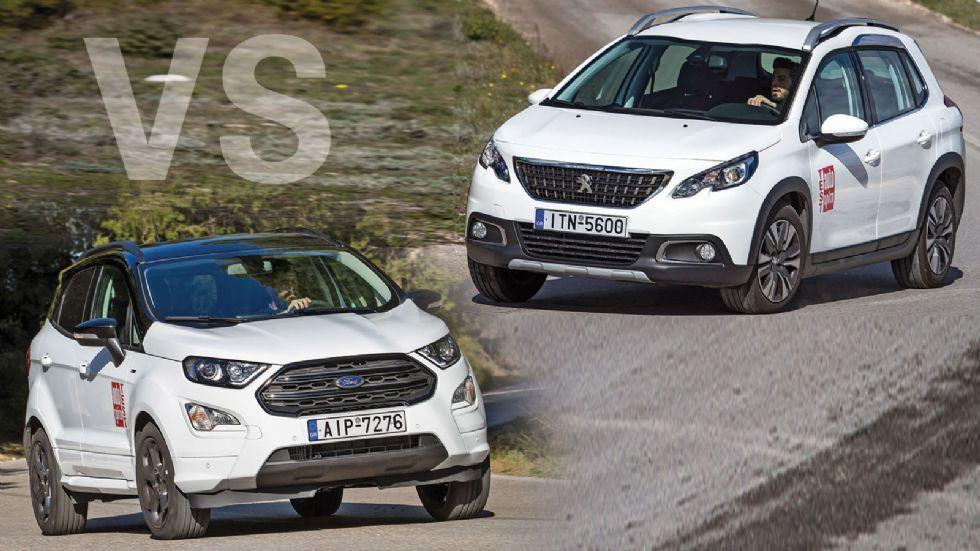 Ford EcoSport VS Peugeot 2008
