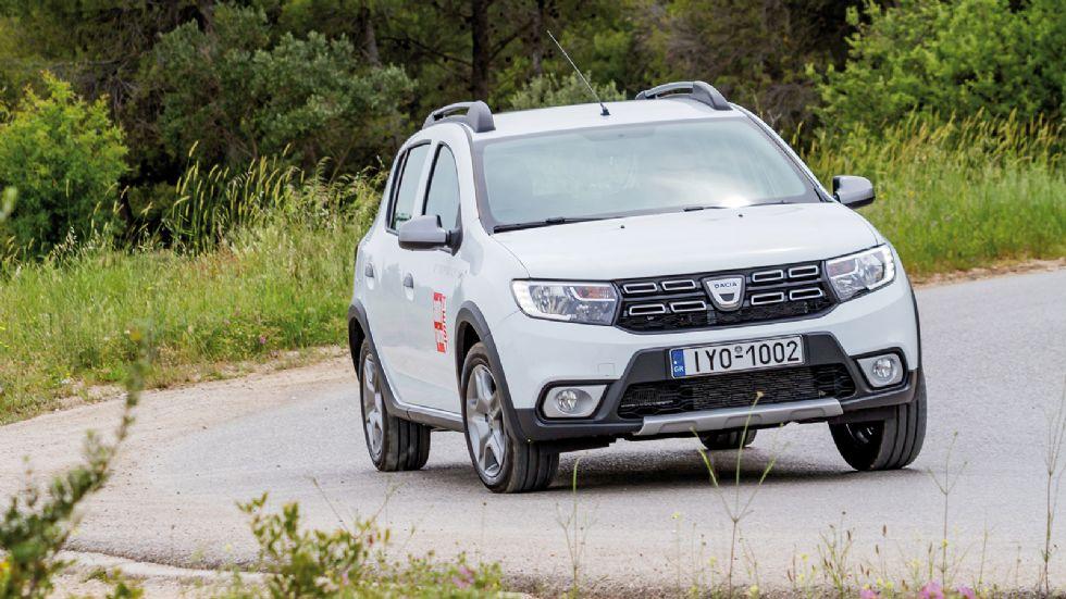 Δοκιμή: Dacia Sandero Stepway