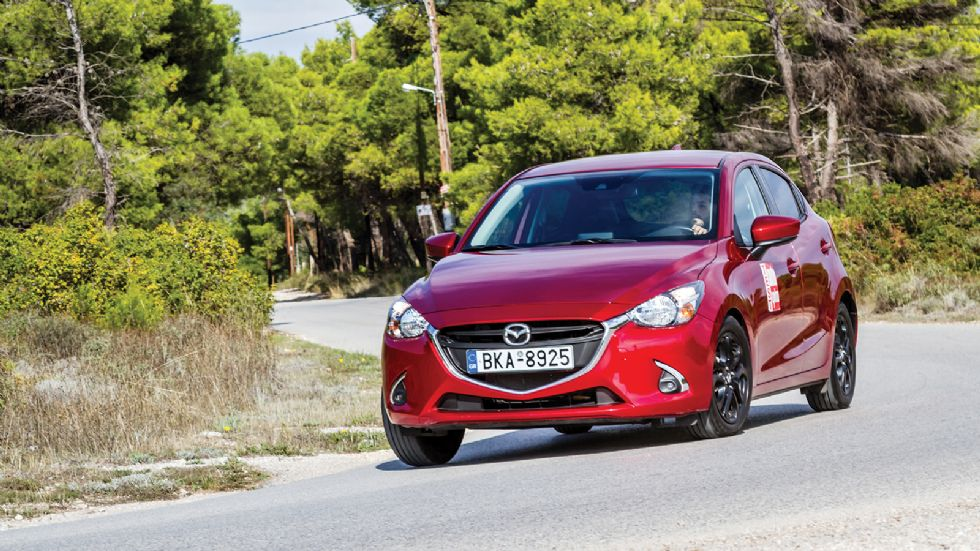 Δοκιμή: Mazda 2 με 90 PS