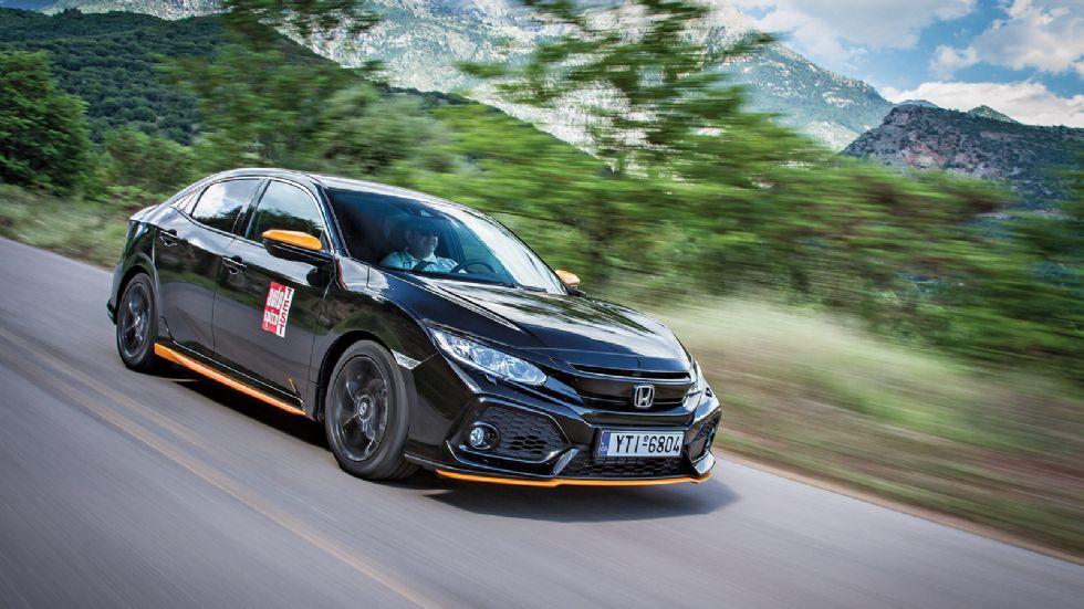 Δοκιμή: Νέο Honda Civic 1,0 λτ. με 129 PS