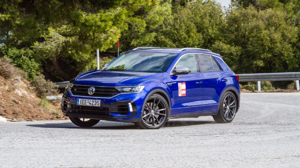Δοκιμή: Νέο VW T-Roc R