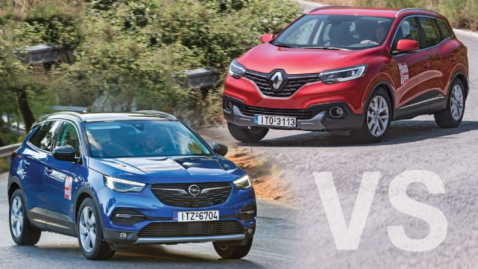 Opel Grandland X VS Renault Kadjar