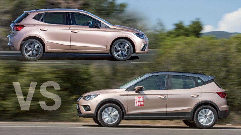 SEAT Ibiza CNG Vs Arona diesel