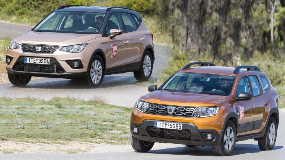 Dacia Duster VS SEAT Arona