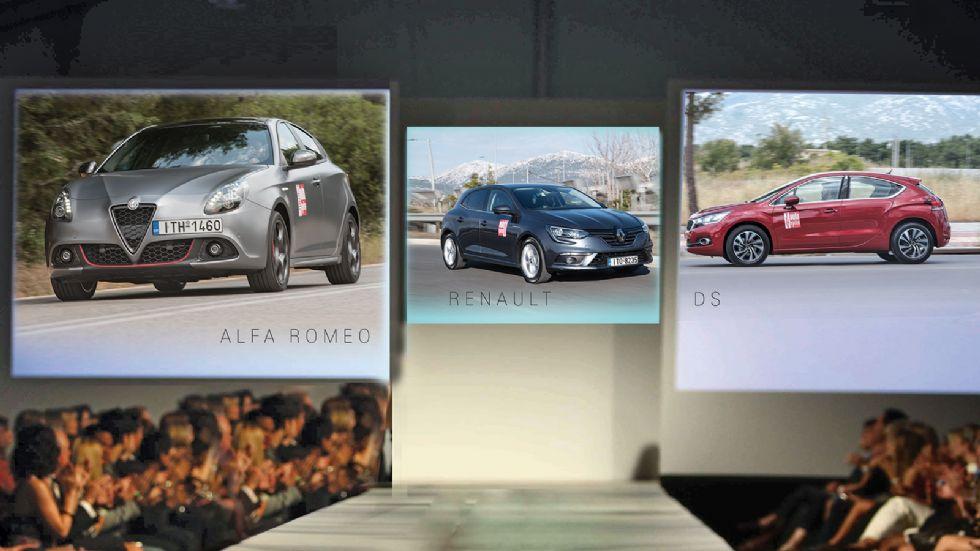Alfa Romeo Giulietta VS DS4 VS Renault Megane