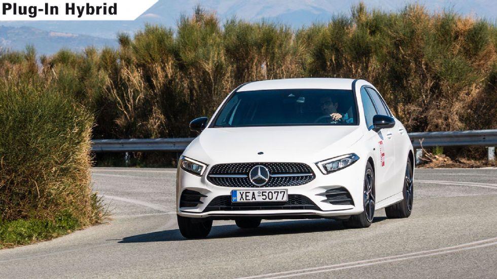 Δοκιμή: H Plug-In Mercedes A-Class