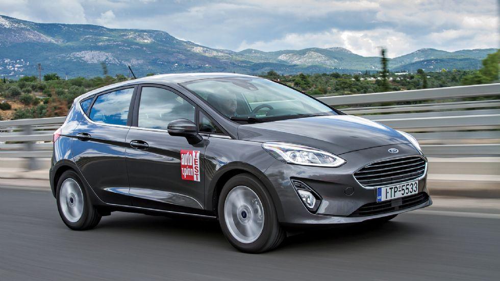 Πρώτη Δοκιμή: Νέο Ford Fiesta 1,0 λτ. με 100 PS
