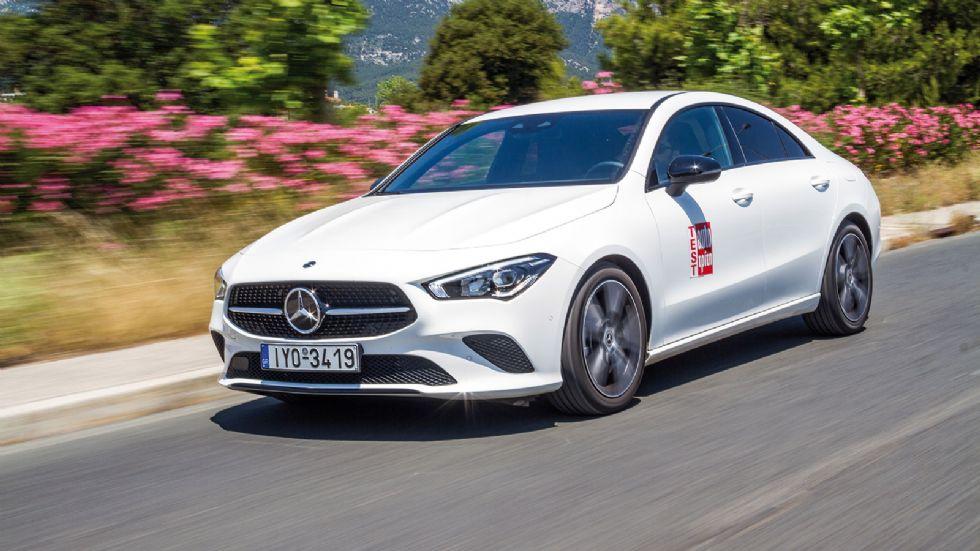 Δοκιμή: Νέα Mercedes-Benz CLA