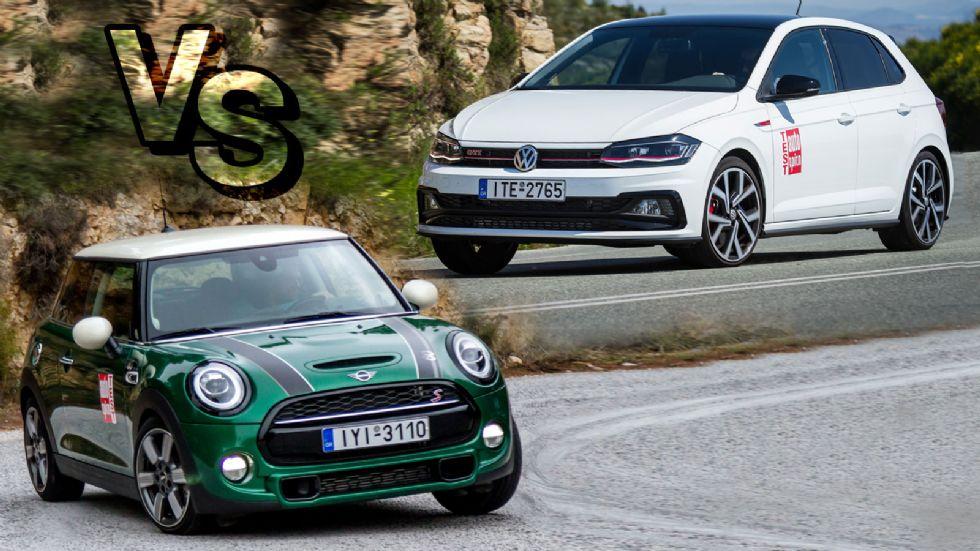 MINI Cooper S VS VW Polo GTI