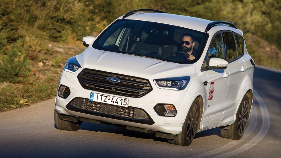 Δοκιμή: Αυτόματο Ford Kuga ST-Line