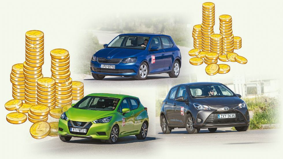 Nissan Micra VS Skoda Fabia VS Toyota Yaris