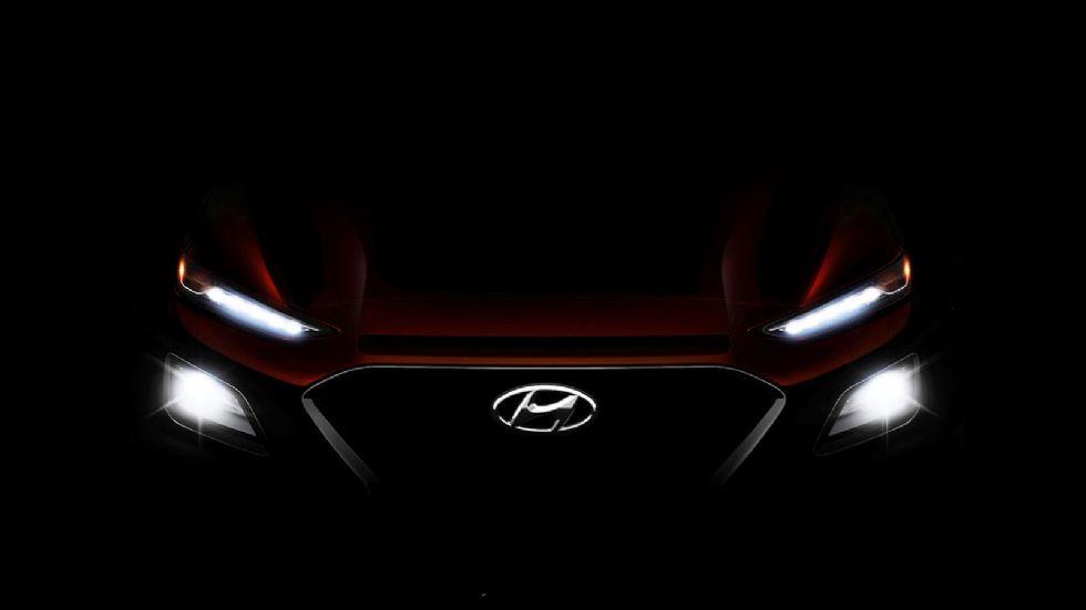Έρχεται το Hyundai Kona