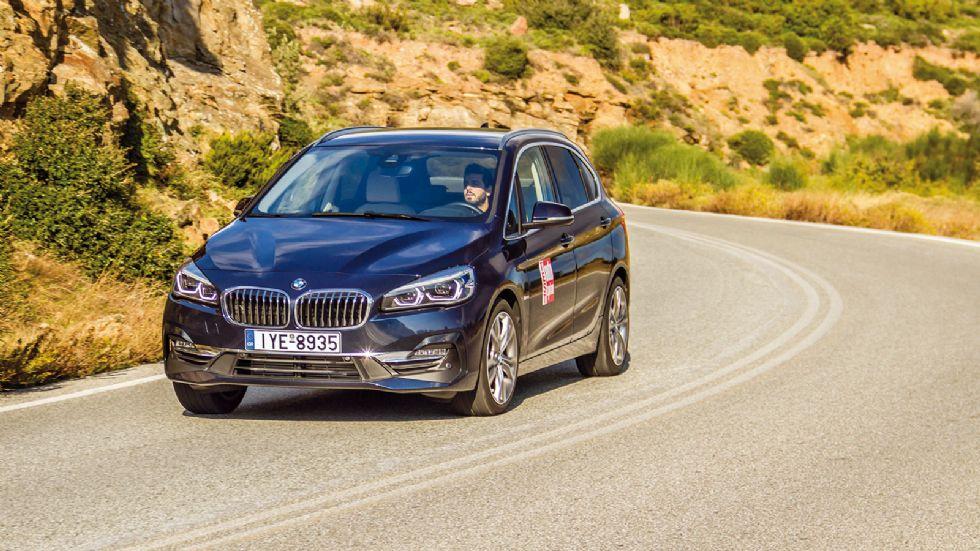 Δοκιμή: BMW 216d Active Tourer με 116 ίππους