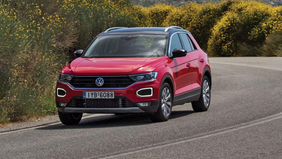 Δοκιμή: VW T-Roc diesel