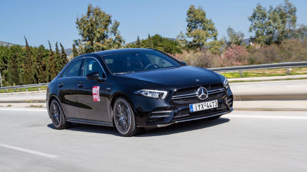 Δοκιμή: Mercedes-AMG A 35 Sedan
