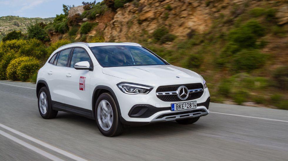 Δοκιμή: Mercedes GLA 200
