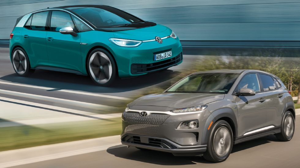 VW ID.3 VS Hyundai Kona electric