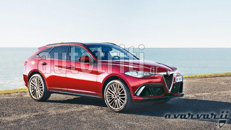 Αποκλειστικό: Το νέο μεγάλο SUV της Alfa Romeo