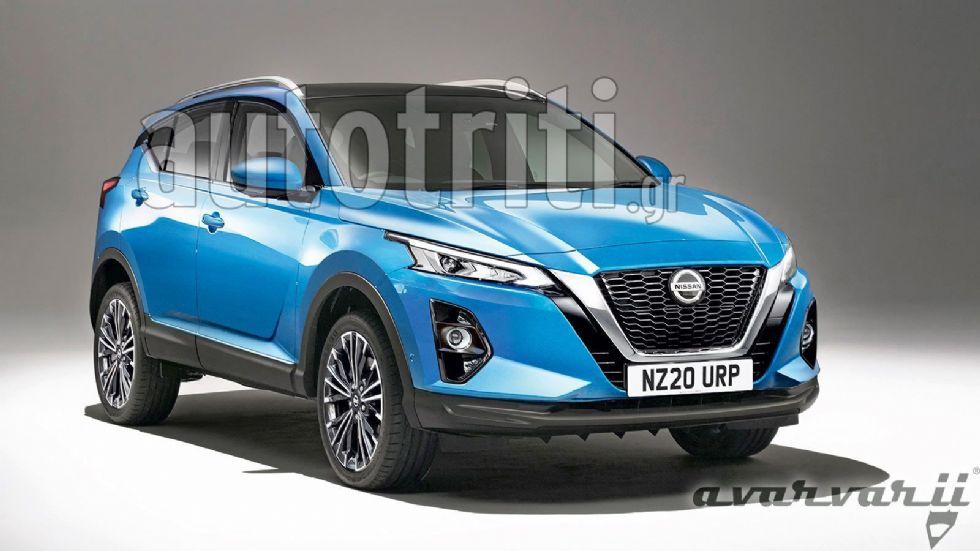 Διπλά υβριδικό το επόμενο Nissan Qashqai