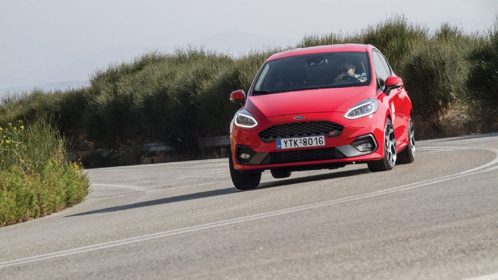 Δοκιμή: Nέο Ford Fiesta ST