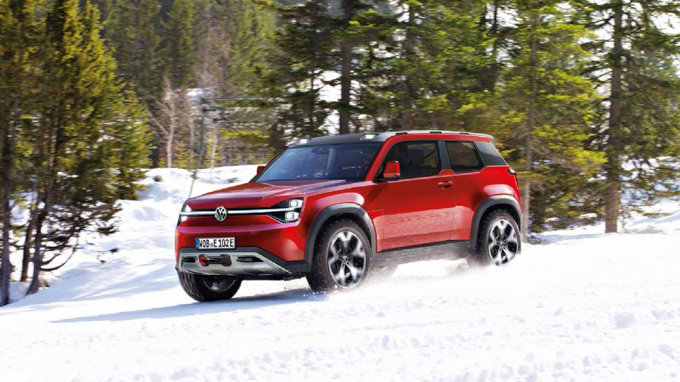 T-Rug: Το ηλεκτρικό «Defender» της VW