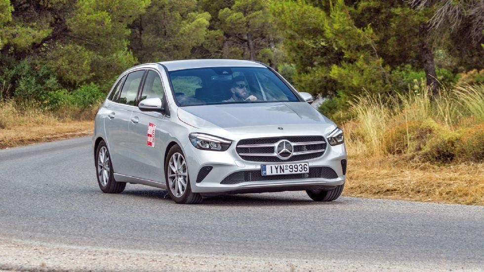 Δοκιμή: Νέα Mercedes B 200