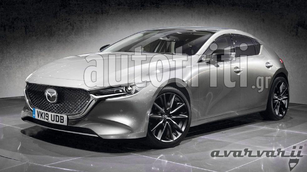 Αποκλειστικό: Νέο Mazda 3