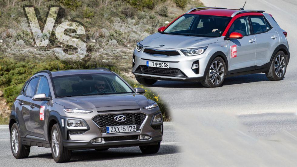 Κορεάτικο B-SUV: Hyundai Kona ή Kia Stonic;