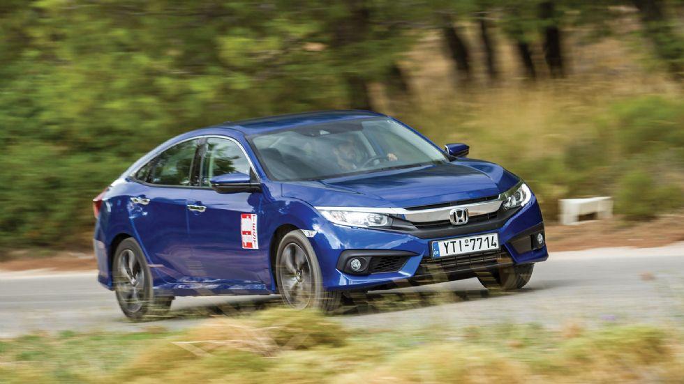 Δοκιμή: Νέο Honda Civic Sedan με 182 PS