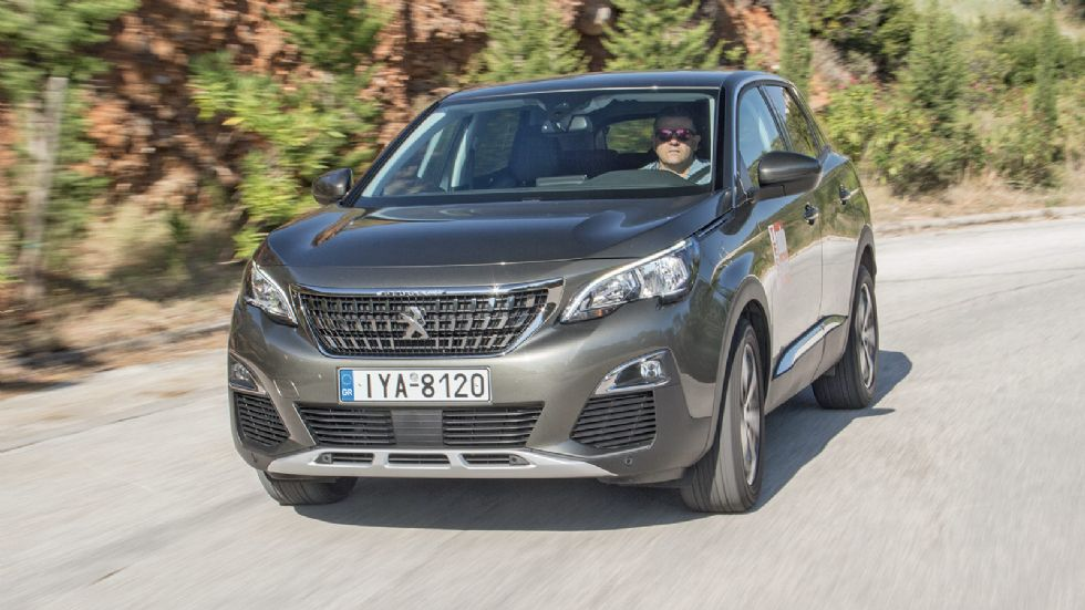 Δοκιμή: Peugeot 3008 1,5 BlueHDi 130 PS EAT8