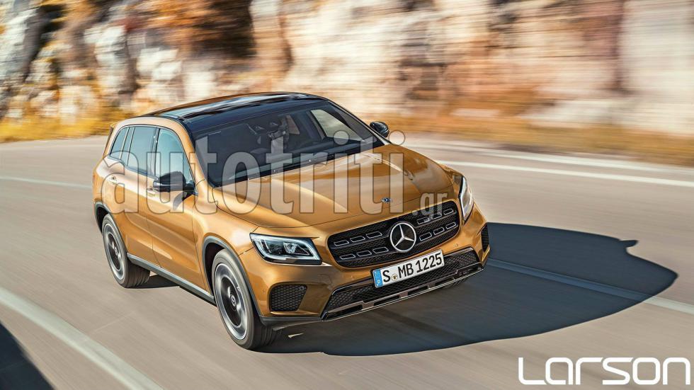 Αποκλειστικό: Nέα Mercedes GLB