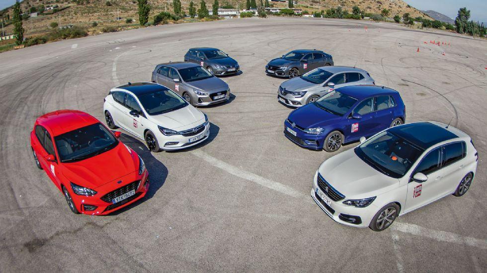 To νέο Ford Focus απέναντι στον ανταγωνισμό