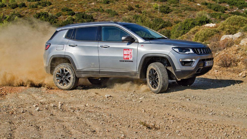 Δοκιμή: Jeep Compass Trailhawk