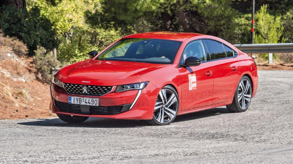 Δοκιμή: Το κορυφαίο Peugeot 508