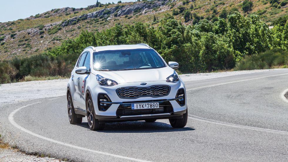 Δοκιμή: Kia Sportage Hybrid