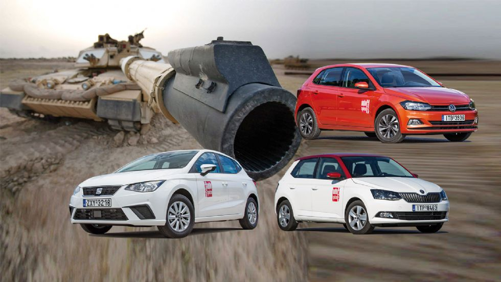 SEAT Ibiza Vs Skoda Fabia Vs VW Polo