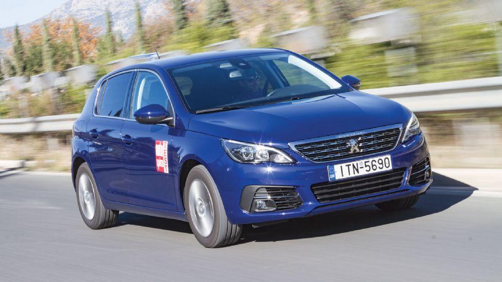 Δοκιμή: Ανανεωμένο Peugeot 308 με 120 PS