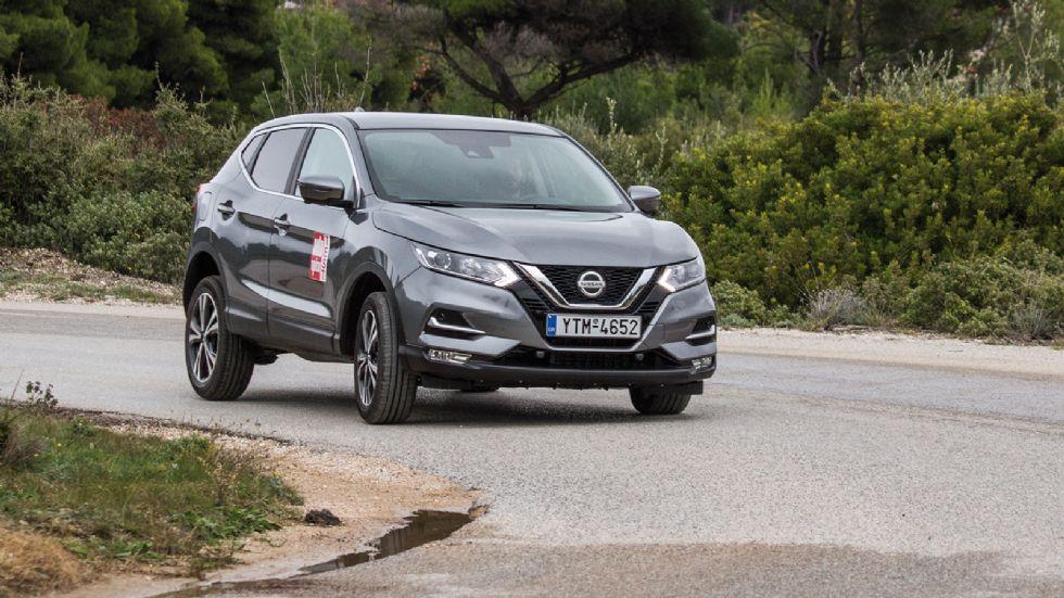 Δοκιμή: Nissan Qashqai 1,3 λτ. 140 PS