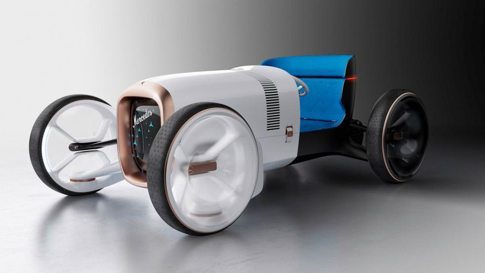 Ρετρό και φουτουριστική Mercedes Simplex