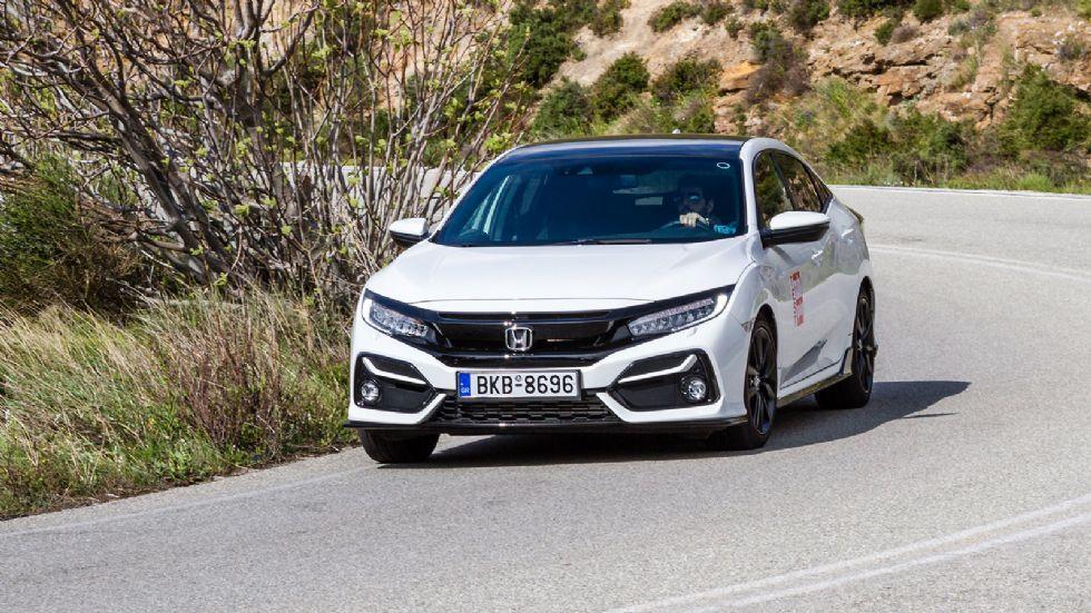 Δοκιμή: Aνανεωμένο Honda Civic