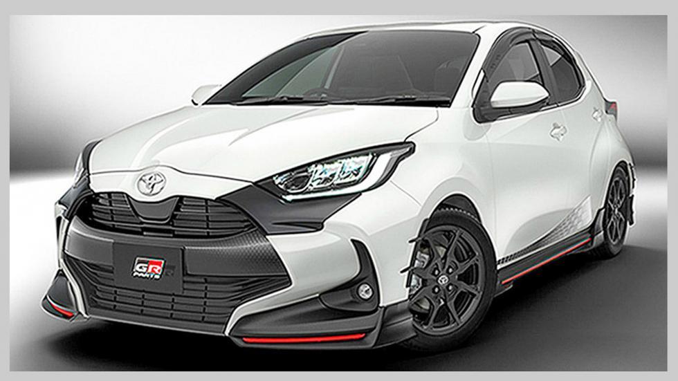 To νέο Toyota Υaris με «καλούδια» TRD