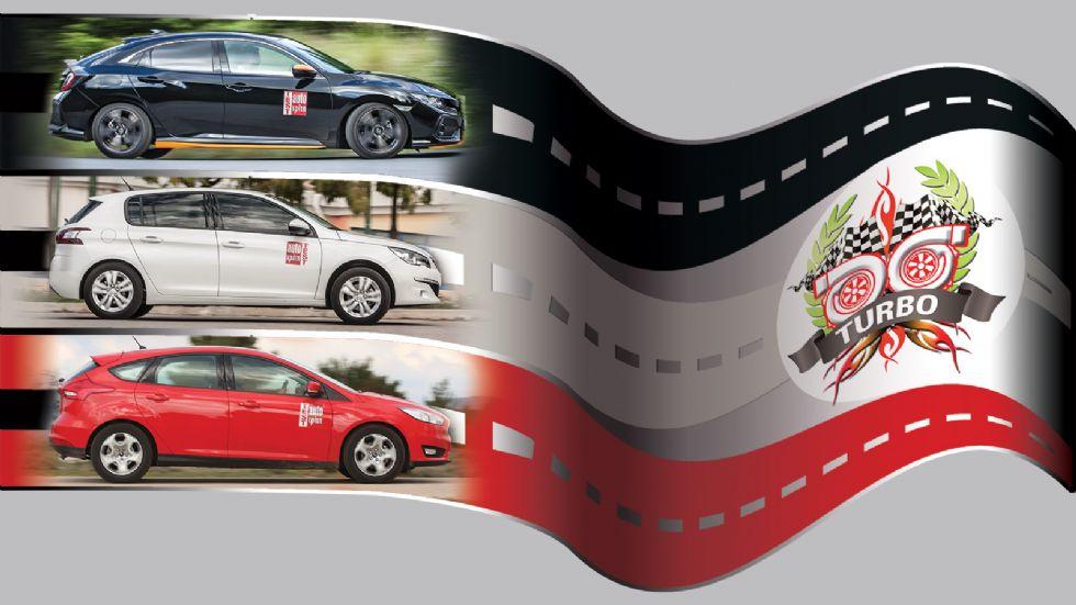 Civic VS Focus VS 308