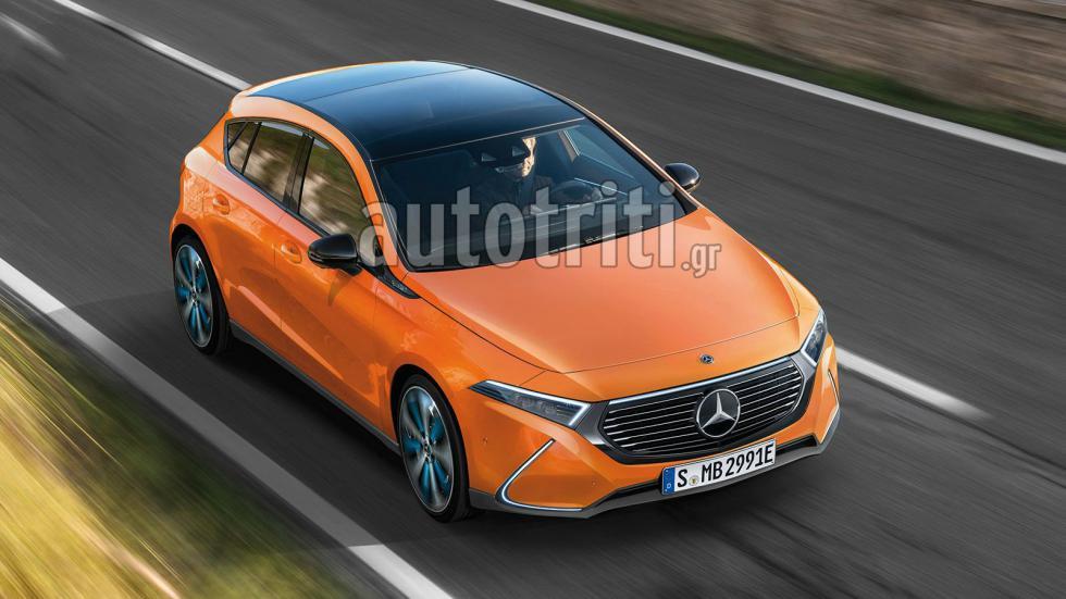 Αποκλειστικό: Νέα Mercedes EQA
