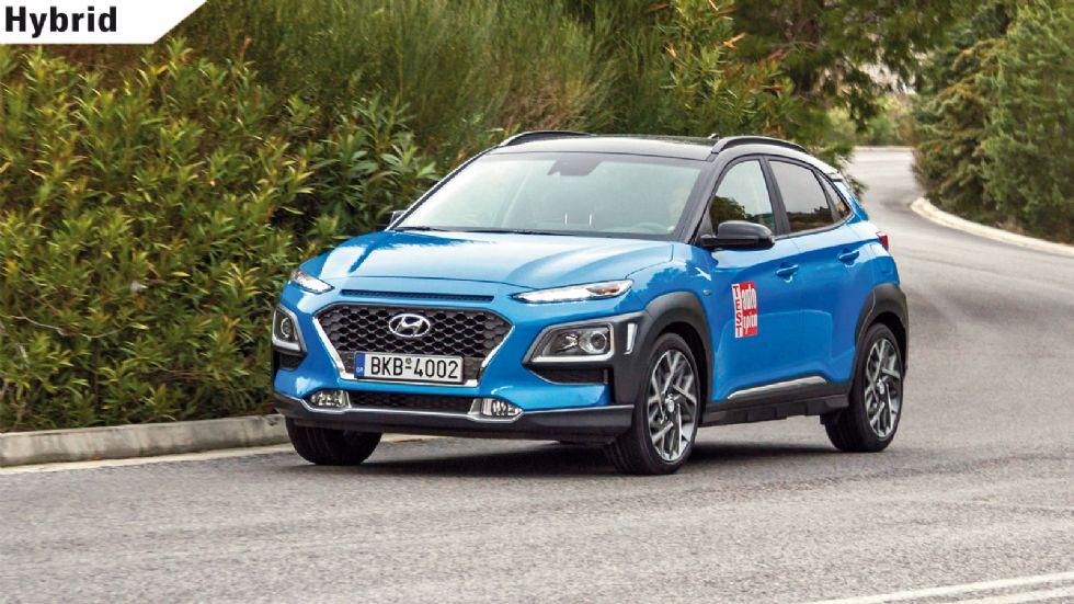 Δοκιμή: Hyundai Kona Hybrid