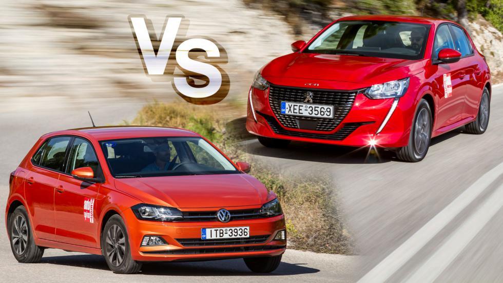 Peugeot 208 ή VW Polo στα ίδια λεφτά;