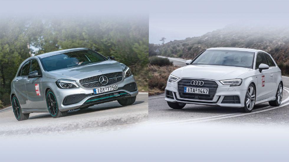 Audi A3 Vs Mercedes A-Class