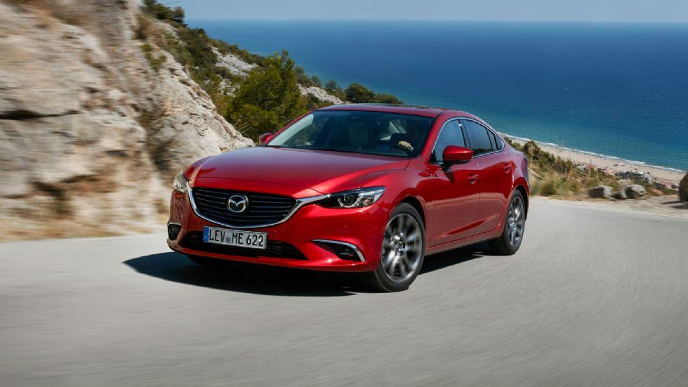 Πισωκίνητο το νέο Mazda6;